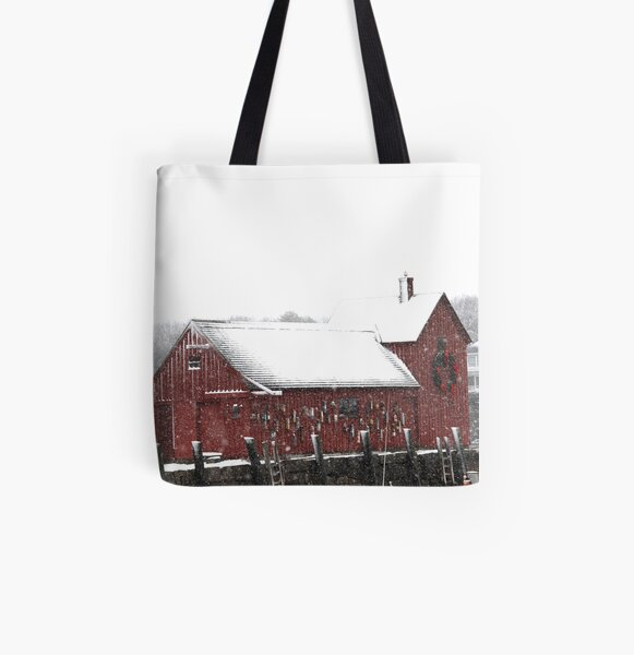 Motif #1 in the Winter All Over Print Tote Bag