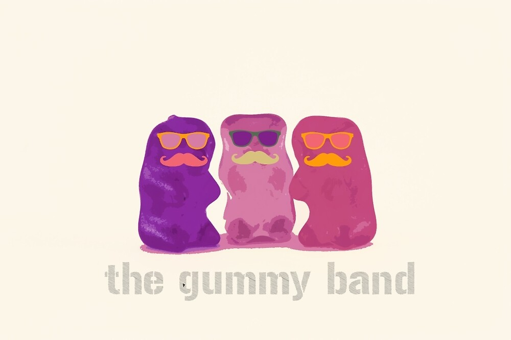 The Gummy Bear Band by lilikp