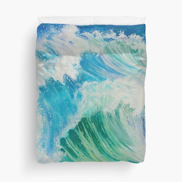 Dancing Waves Duvet Cover