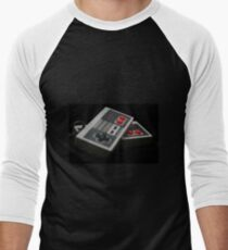 Nintendo Controllers Men's Baseball ¾ T-Shirt