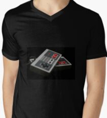 Nintendo Controllers Men's V-Neck T-Shirt