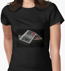 Nintendo Controllers Women's Fitted T-Shirt