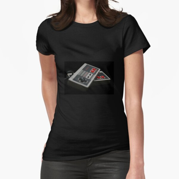 Nintendo Controllers Fitted T-Shirt