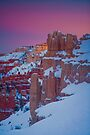 Bryce Sunset in Snow by photosbyflood