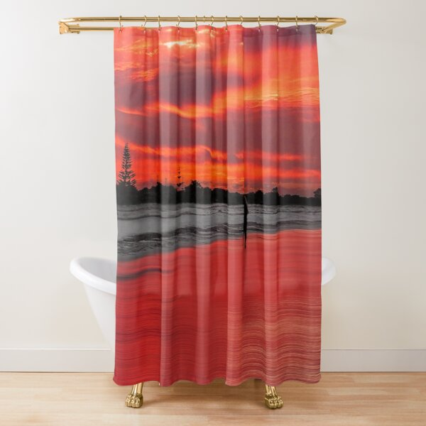 Sunset Eve Shower Curtain