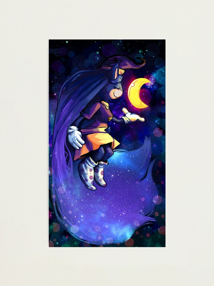 Alternate view of Sonya and the Moon Photographic Print