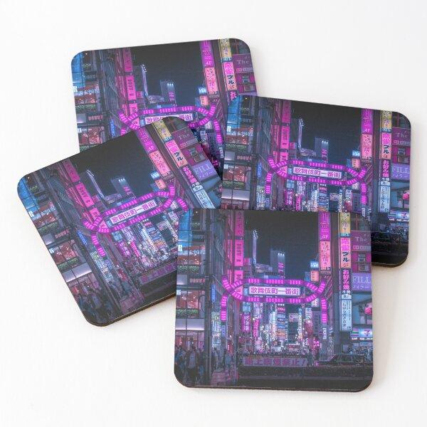 Kabukicho Gate, Shinjuku Coasters (Set of 4)