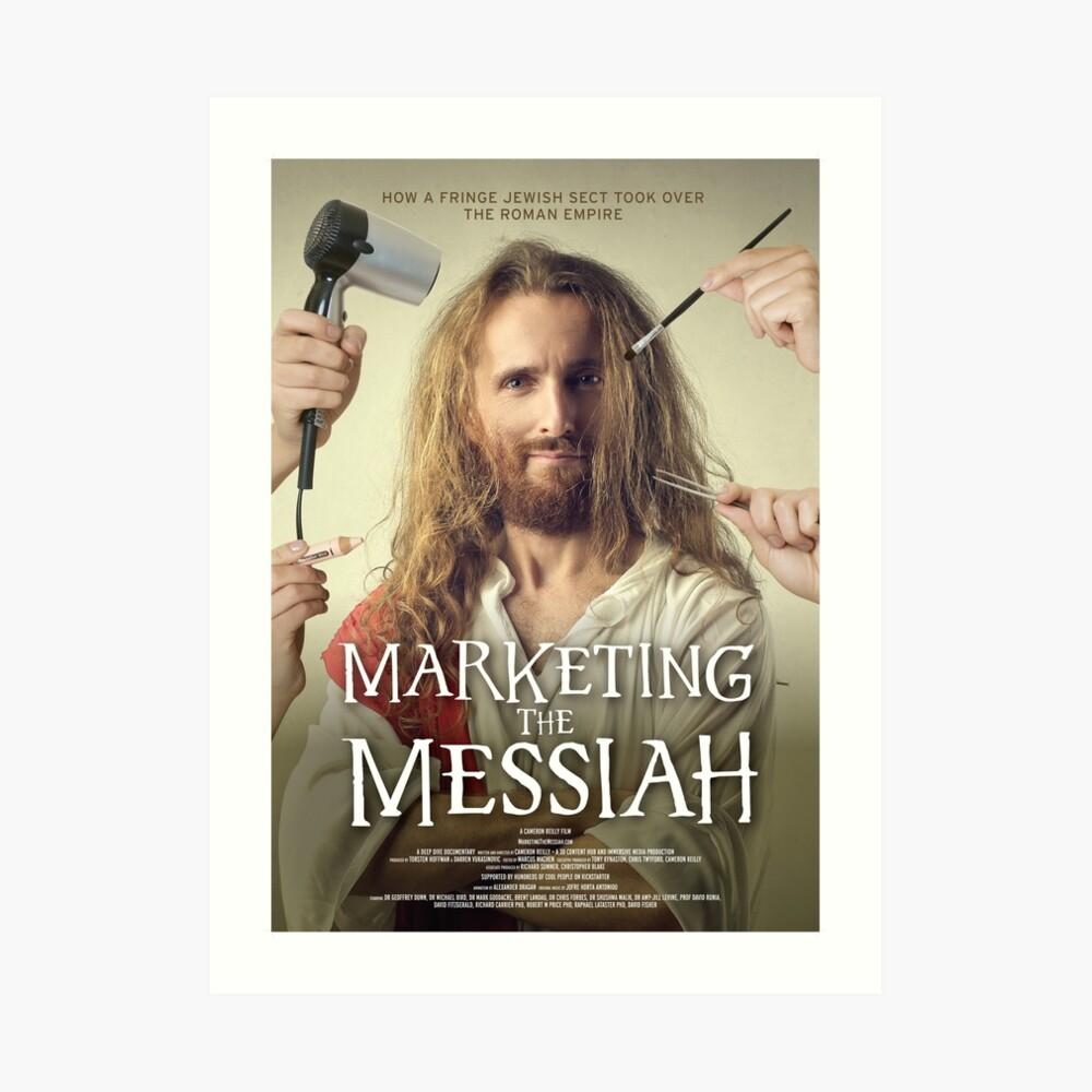 Marketing The Messiah Poster Art Print