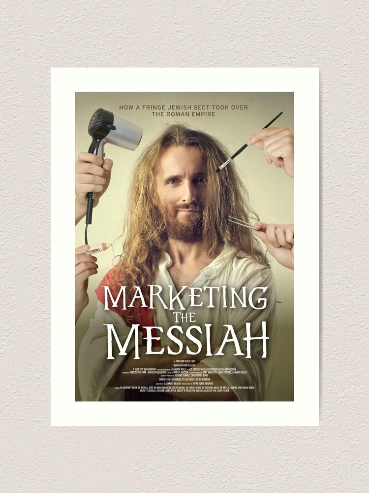 Alternate view of Marketing The Messiah Poster Art Print