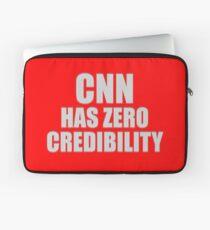 CNN HAS ZERO CREDIBILITY Laptop Sleeve