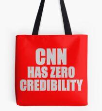 CNN HAS ZERO CREDIBILITY Tote Bag