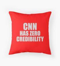 CNN HAS ZERO CREDIBILITY Floor Pillow
