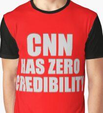 CNN HAS ZERO CREDIBILITY Graphic T-Shirt