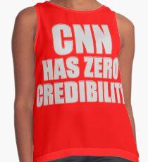 CNN HAS ZERO CREDIBILITY Sleeveless Top