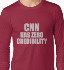 CNN HAS ZERO CREDIBILITY Long Sleeve T-Shirt