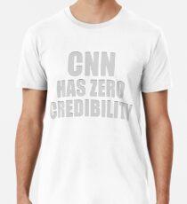 CNN HAS ZERO CREDIBILITY Premium T-Shirt