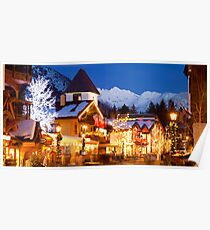 Vail Village, Christmas 2010-2011 Poster