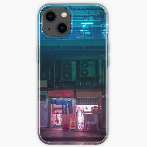 Neo Tokyo - Hidden bar iPhone Soft Case