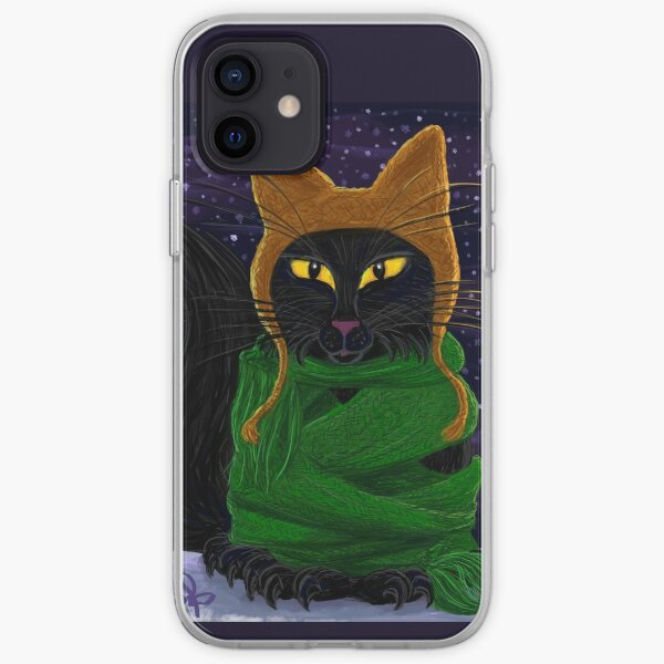 One Satisfied Yule Cat 2 iPhone Soft Case