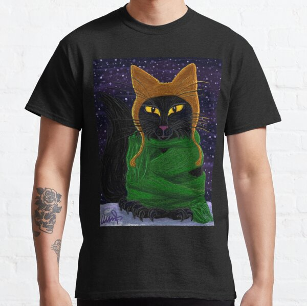 One Satisfied Yule Cat 2 Classic T-Shirt