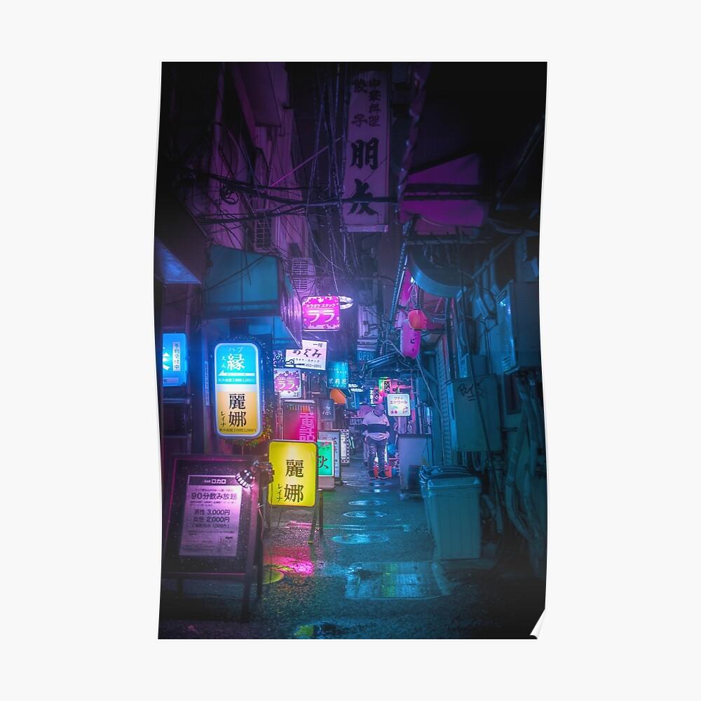 Underground Tokyo City Poster