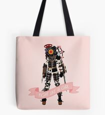 Fight Like a Girl: Big Sister Tote Bag