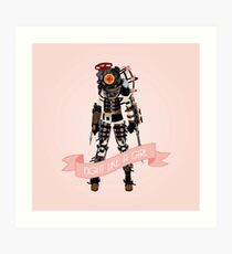 Fight Like a Girl: Big Sister Art Print