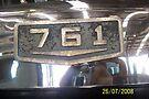 Brockway F761TL 761 model bonnet badge by Joe Hupp