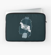 Endure and Survive Laptop Sleeve