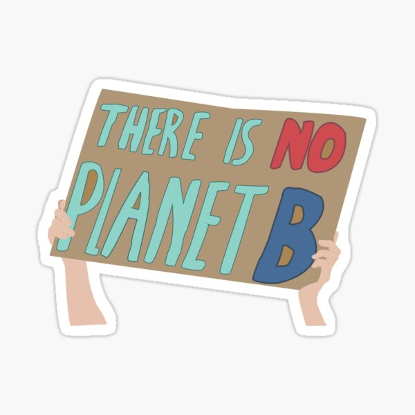 Climate Change Sticker