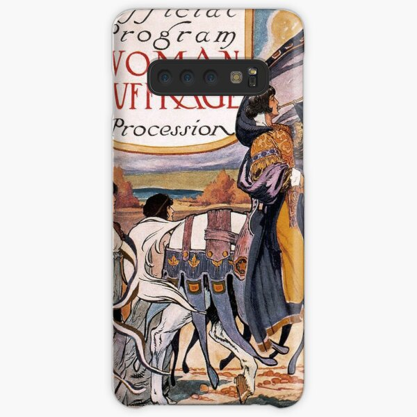1913 Women's March On Washington 2 Sepia Toned - Votes For Women - Women's Suffrage Samsung Galaxy Snap Case