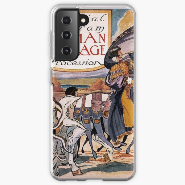 1913 Women's March On Washington 2 Sepia Toned - Votes For Women - Women's Suffrage Samsung Galaxy Soft Case