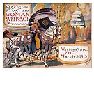 1913 Women's March On Washington 2 Sepia Toned - Votes For Women - Women's Suffrage by MHirose