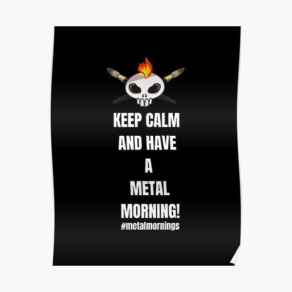 Metalhead Minis - Metal Mornings - Twitch Poster