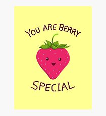 Fruity Truth! Photographic Print