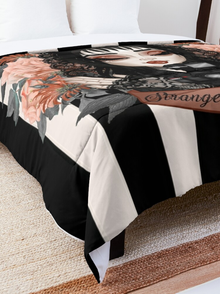 Alternate view of Strange and Unusual Comforter