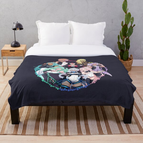 OGIENOID - IRIS Forever! Monochrome Throw Blanket