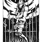 The Eight of Swords by Anyaboz