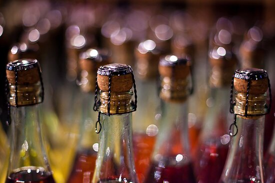 army of champagne by Victor Bezrukov