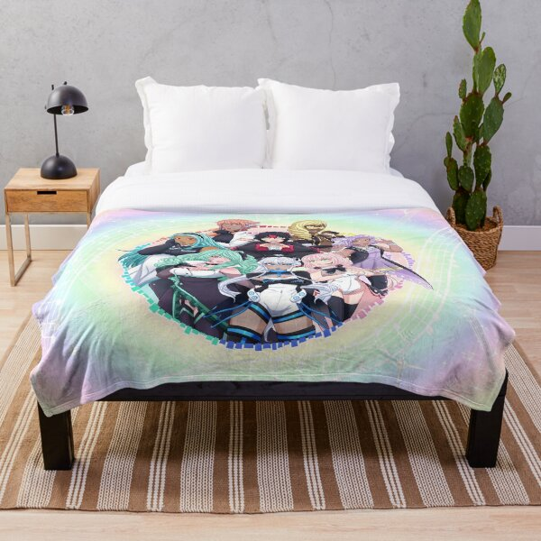 OGIENOID - IRIS Forever! Throw Blanket