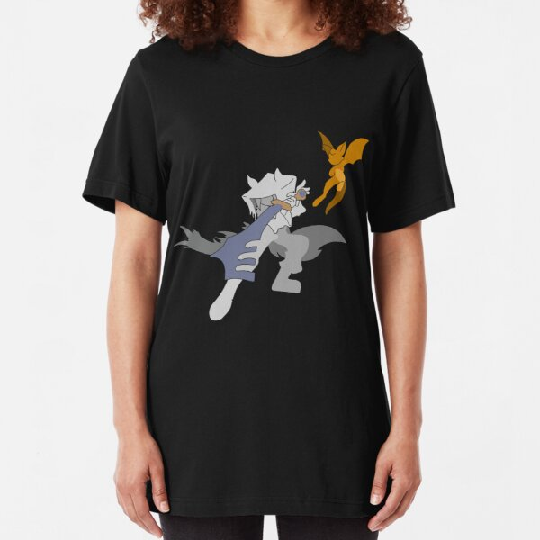 Dust an Elysian Tail Slim Fit T-Shirt