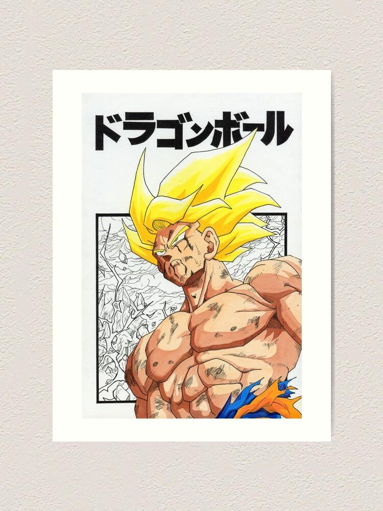 DRAGON BALL Z  SON GOKU POSTER JAPANESE MANGA ART WALL LARGE IMAGE GIANT PRINT