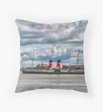 Waverley Departs Throw Pillow