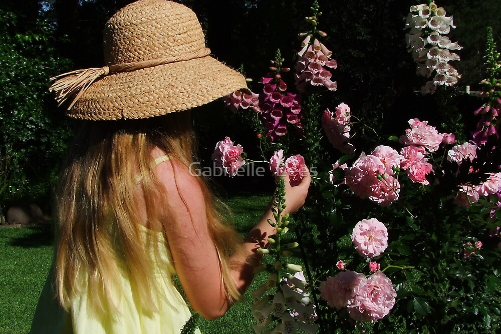 Taking Time to Smell The Roses! by Gabrielle  Lees
