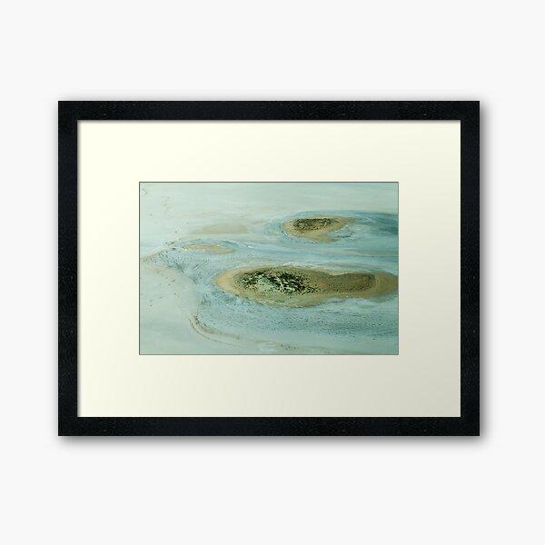 Kati Thanda Lake Eyre South Framed Art Print