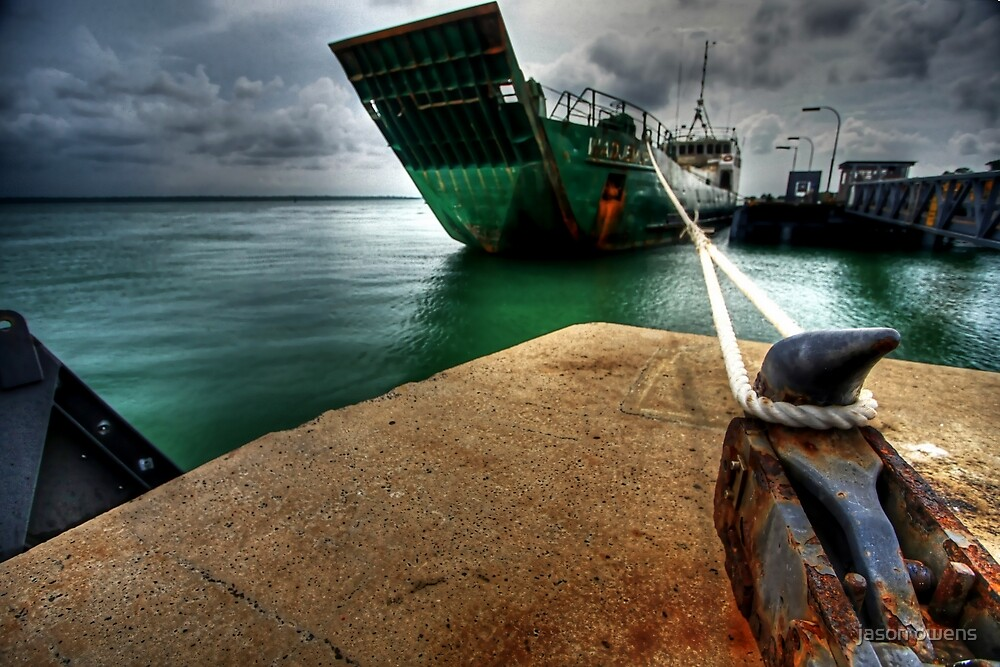 the Barge..2.. by jason owens