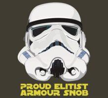 Proud Elitist Armour Snob