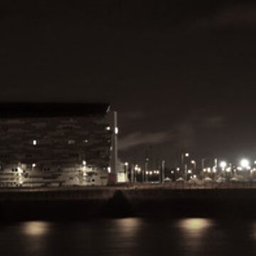 Middlesbrough College at Night by sbland