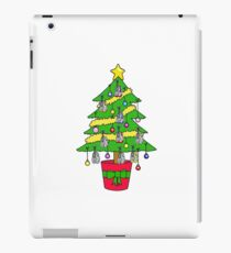 Christmas tree for runners. iPad Case/Skin