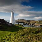 The Beacon, Baltimore, West Cork by Orla Flanagan